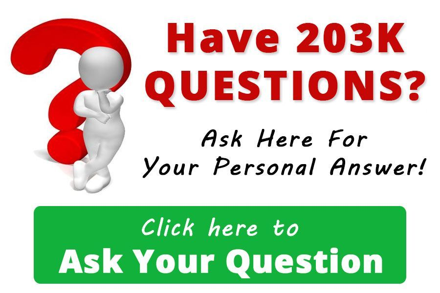 FHA 203 Questions Ask Here